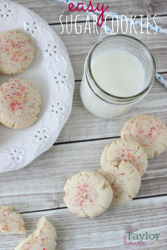 Sugar Cookies, Easy Sugar Cookies, Cookie Recipes, Amish Sugar Cookies ...