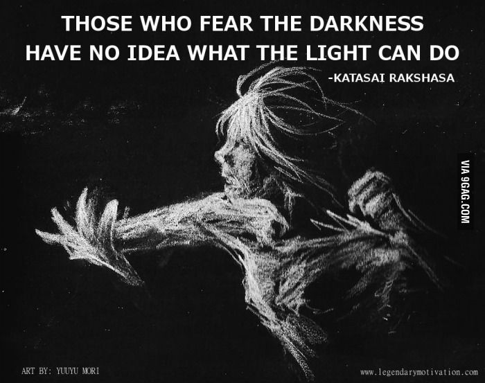 Darkness vs light quotes