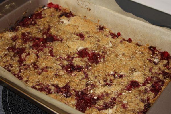 Raspberry Oatmeal Breakfast Bars | Recipes to Try | Pinterest