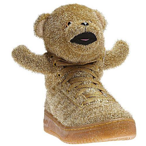 wow. image: adidas Jeremy Scott Tinsel Bear Shoes G96188