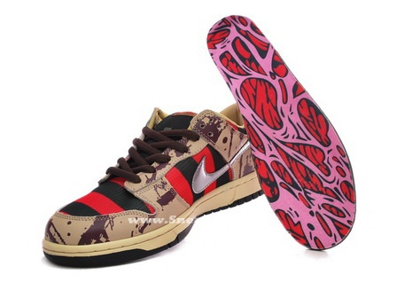 Nike Freddy Krueger Sneakers | Garras | Pinterest