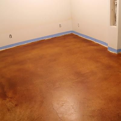 stained concrete floors diy flooring dream home life