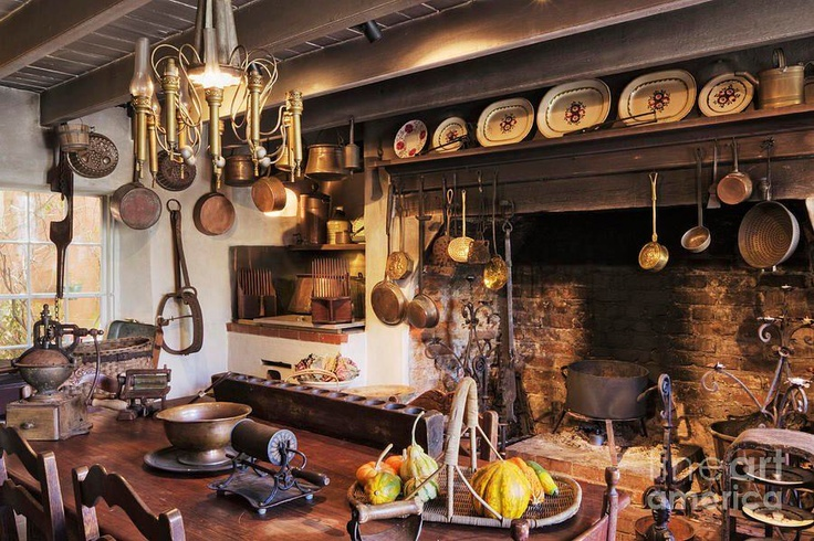Old English Kitchen Home Is Where The Heart Pinterest