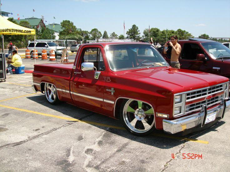 Slammed C10 | Classic Custom Trucks | Pinterest