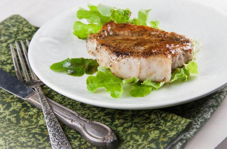 Dijon and Honey Pork Chops (#Glutenfree, #Dairyfree)
