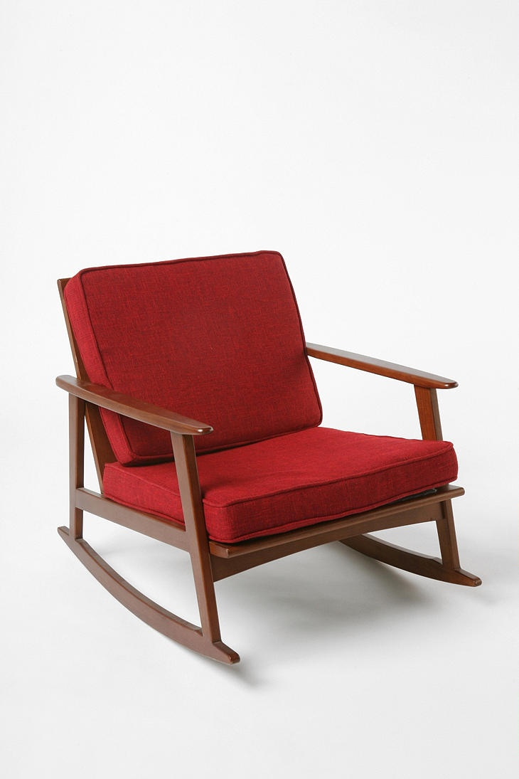 Mid-century rocking chair  Home Ideas  Pinterest
