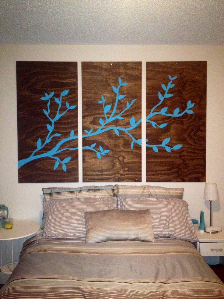 Plywood Wall Art Diy Pinterest