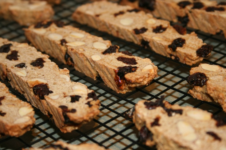 Cherry Almond Biscotti | Recipes I've Tried | Pinterest