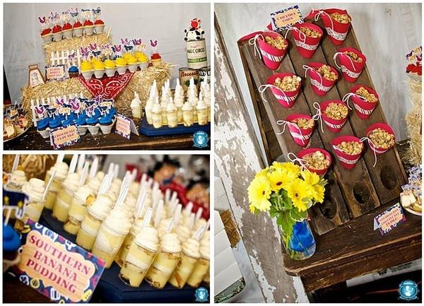 Food Ideas Kaiden s cowboy party ideas Yummy Pinterest