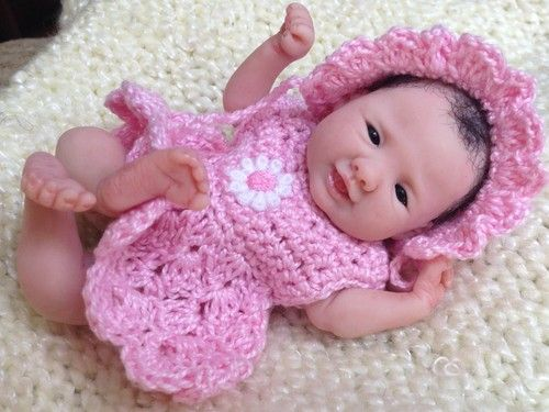 Details about ooak prosculpt polymer clay newborn baby girl full scul