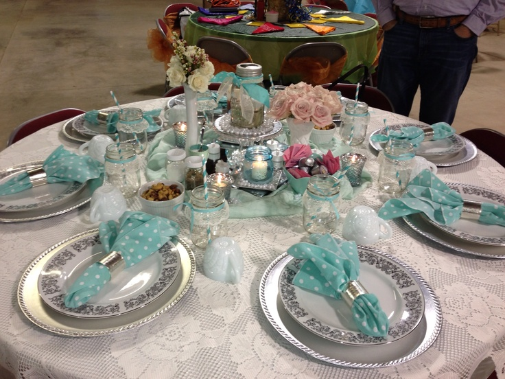 Senior Serve Table Ideas
