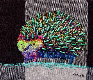 hedgehog   Flickr - Photo Sharing! -artist Kimika Hara