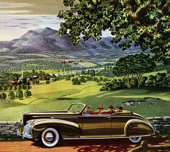 1940 lincoln zephyr classic auto ads pinterest. Black Bedroom Furniture Sets. Home Design Ideas