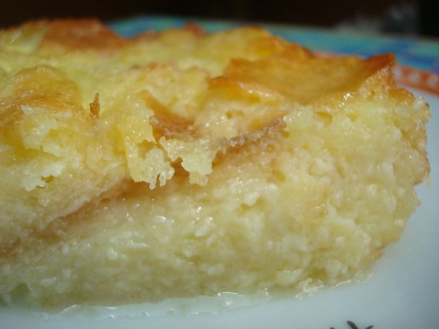 white chocolate bread pudding | food | Pinterest