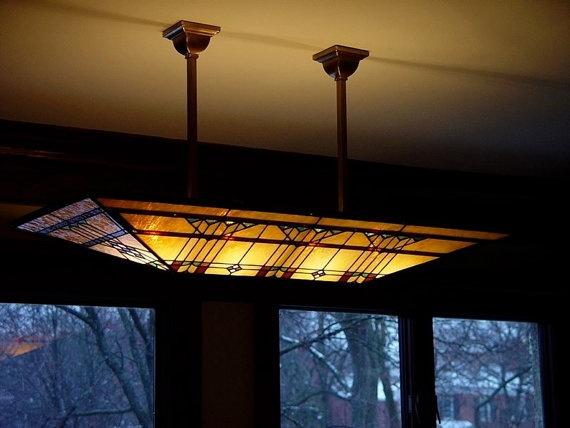 frank lloyd wright art glass lighting fixtures. Black Bedroom Furniture Sets. Home Design Ideas
