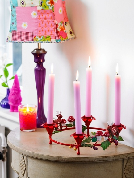 Advent candle holder | Christmas time... | Pinterest