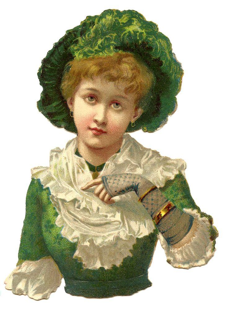Scrap Victorian Lady —  (1075×1500)