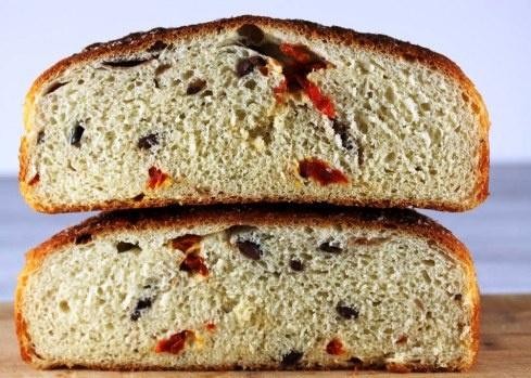 Sun-Dried Tomato and Kalamata Olive Loaf | Bake Me Eat Me Drink Me …