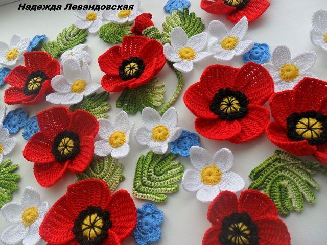 Uncinetto e crochet idee floreali all 39 uncinetto for Idee uncinetto