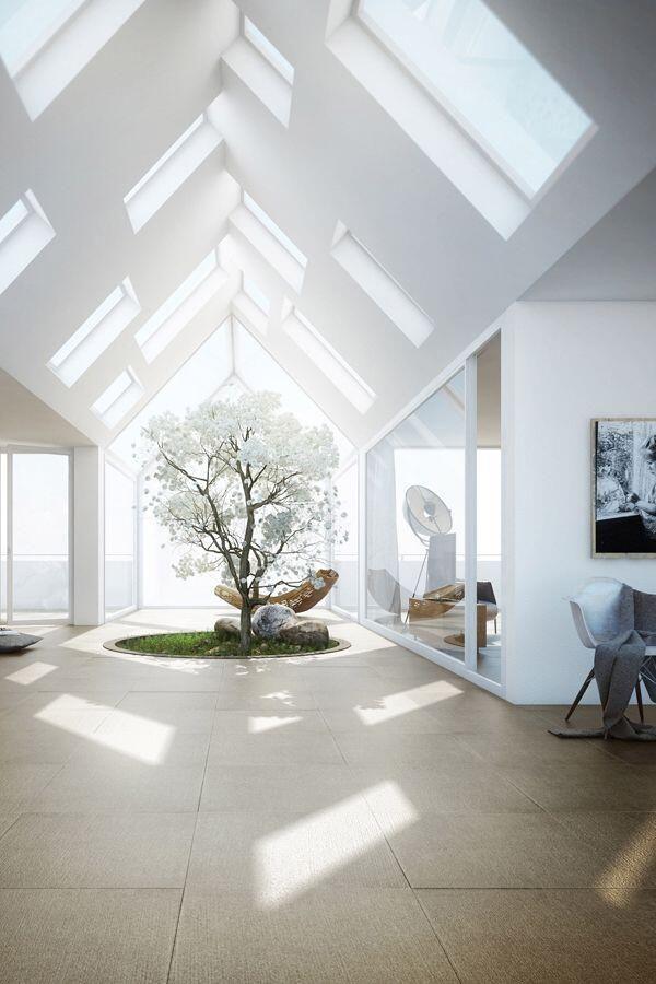 Indoor natural light home pinterest for Indoor nature design