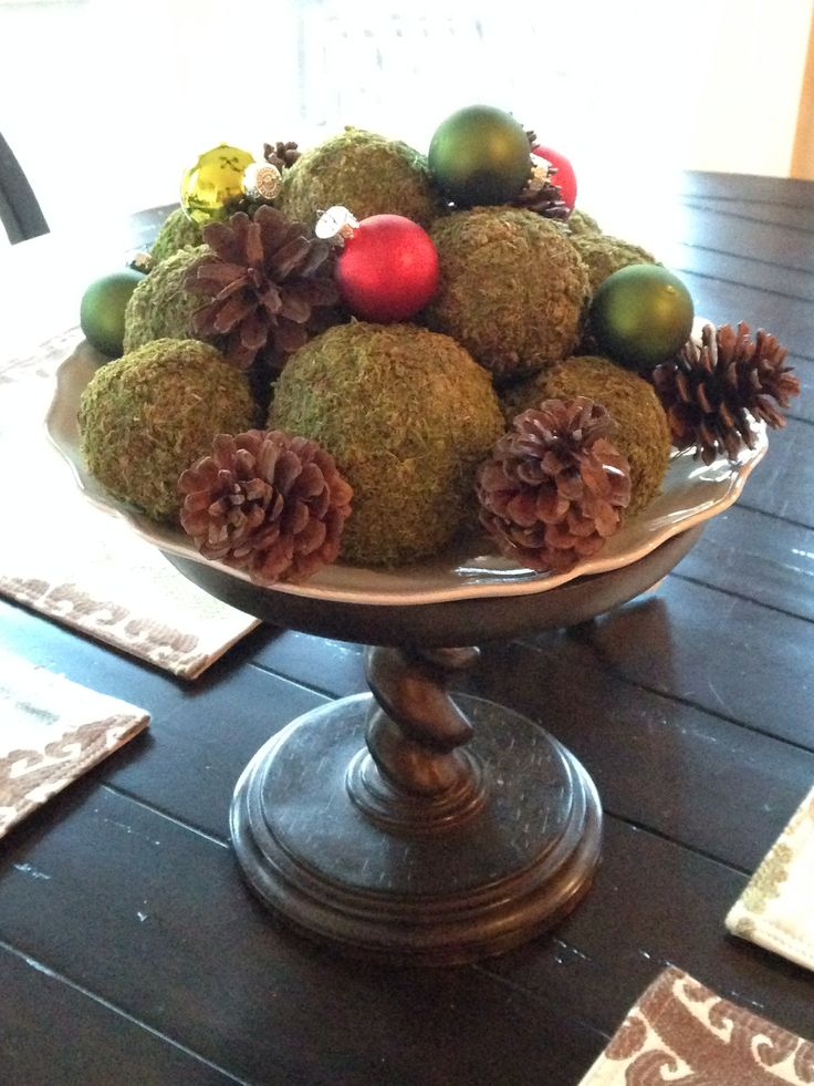 Christmas Kitchen Table Centerpiece Holidays Pinterest