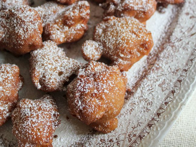 Golden Deep-Fried Apple Fritters
