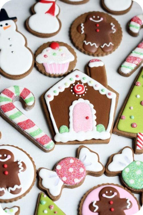 ... Cookie Gift Ideas & Cookie Decorating Tips by @sweetopia #Christmas