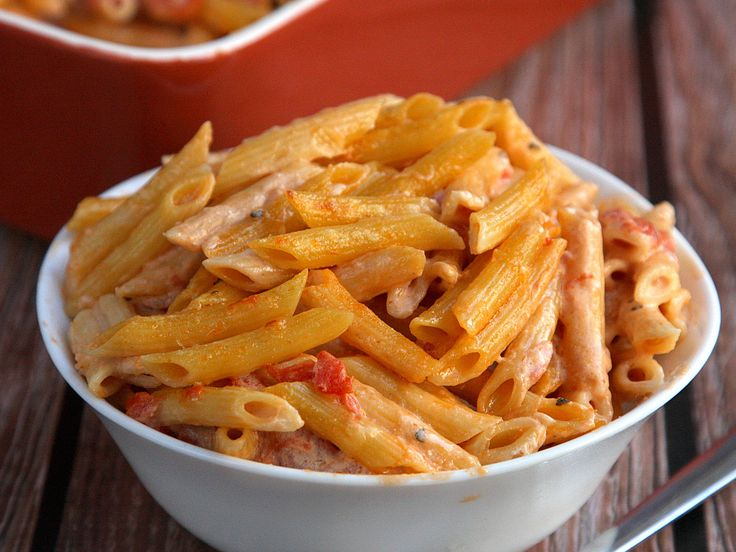 Penne with Five Cheeses | Delicious food! Yum | Pinterest
