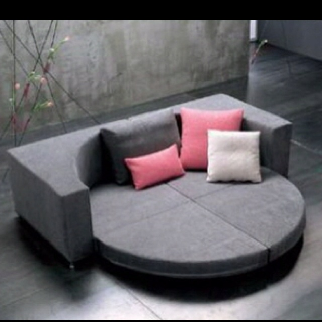 Round Couch Bed For Rigel Pinterest