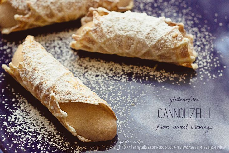 Gluten-free cannoli from Cupcake Wars winner Kyra Bussanich via ...