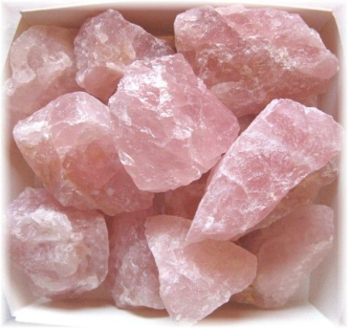 4. Heart Chakra (Rose Quartz) - Our ability to love.  Location: Center of chest just above heart. Emotional issues: Love, joy, inner peace.