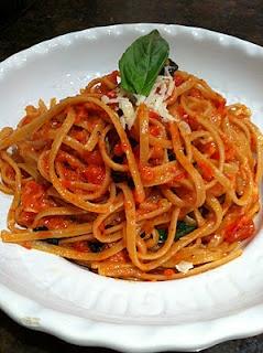Spaghetti with Spicy Marinara | Yummy Recipes! | Pinterest