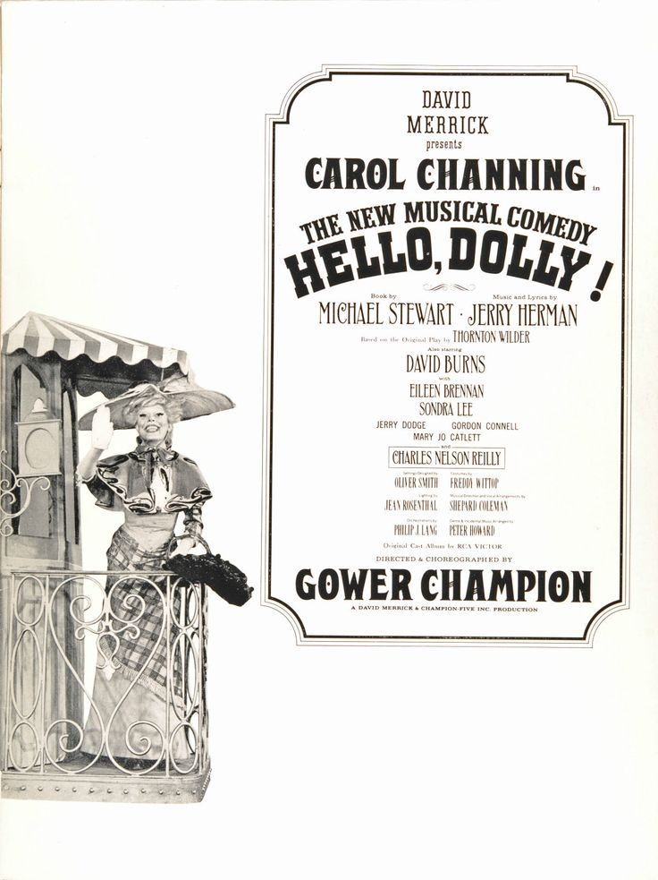 critique of hello dolly by michael stewart Michael stewart (august 1, 1924 – september 20, 1987) was an american playwright and librettist for the stage life and career born myron stuart rubin  he worked again with champion and jerry herman, with their musical hello, dolly opening on broadway in 1964 stewart died on september 20, 1987 in new york city.