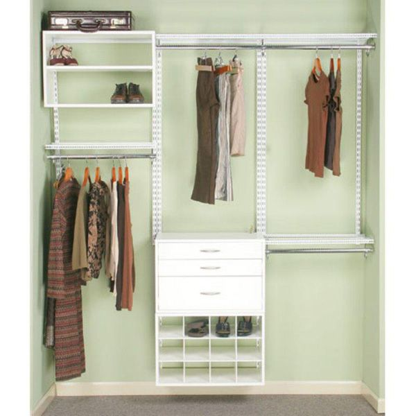 Closet Organizers For Small Closets Do It Yourself Cheap
