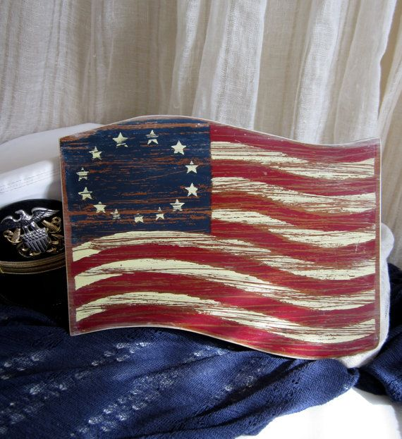 american flag star pattern