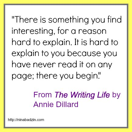 annie dillard living like weasels essay