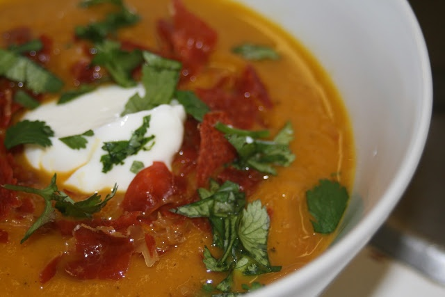 CupcakesOMG!: Winning: Curry Carrot Soup | Grain-Free Cooking | Pinte ...