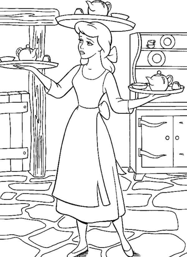 servant coloring pages - photo#11