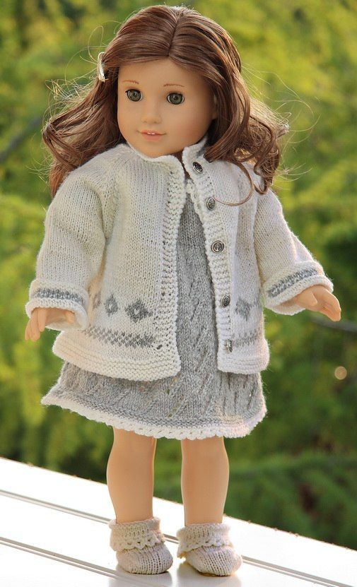 Knitting Pattern For Dolls Coat : Knitting Patterns for Dolls Clothes American Girl Pinterest