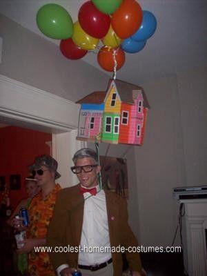 UP! costume Fun Costume Ideas Pinterest - Make Up Halloween Costumes