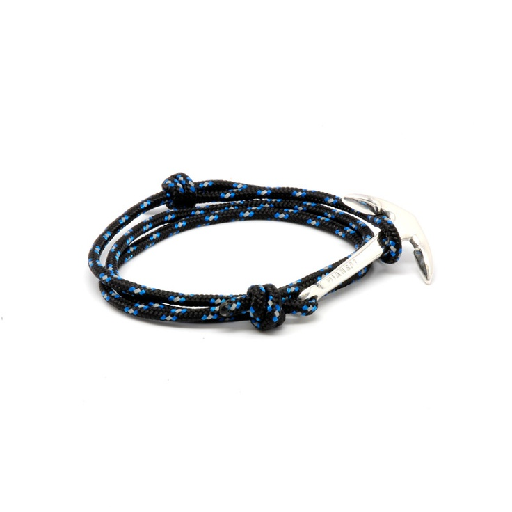 Anchor on Black and Blue cord