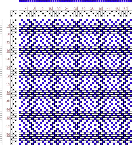 4 shaft weaving patterns free patterns