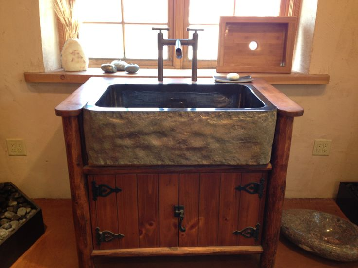 Rustic Sink : Rustic Faucet and granite apron sink For the Ranch 2, Anything goes ...