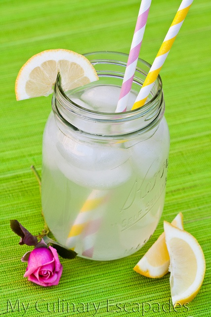 More like this: rose water , lemonade recipes and pink stripes .