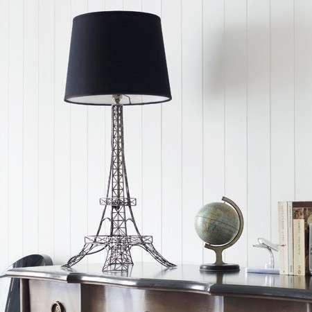 eiffel tower table lamp eiffel towers oui oui pinterest. Black Bedroom Furniture Sets. Home Design Ideas