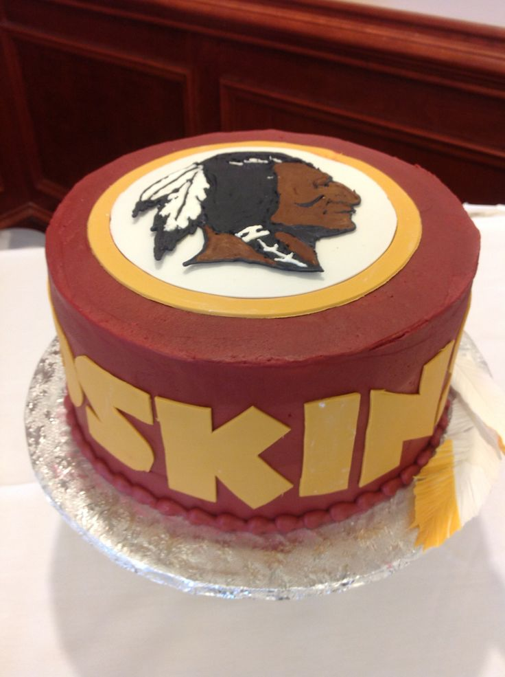 redskin cake ideas