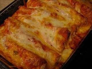 Three Cheese Chicken Enchiladas | Food! | Pinterest