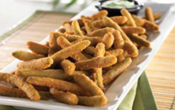 Deep fried green beans - These are SOOOOO gooooooood! I want some so ...