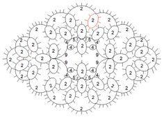 tatting visual patterns - Google Search crochet jewellery Pintere ...