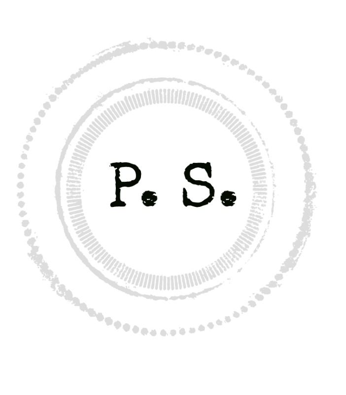 P.S decal